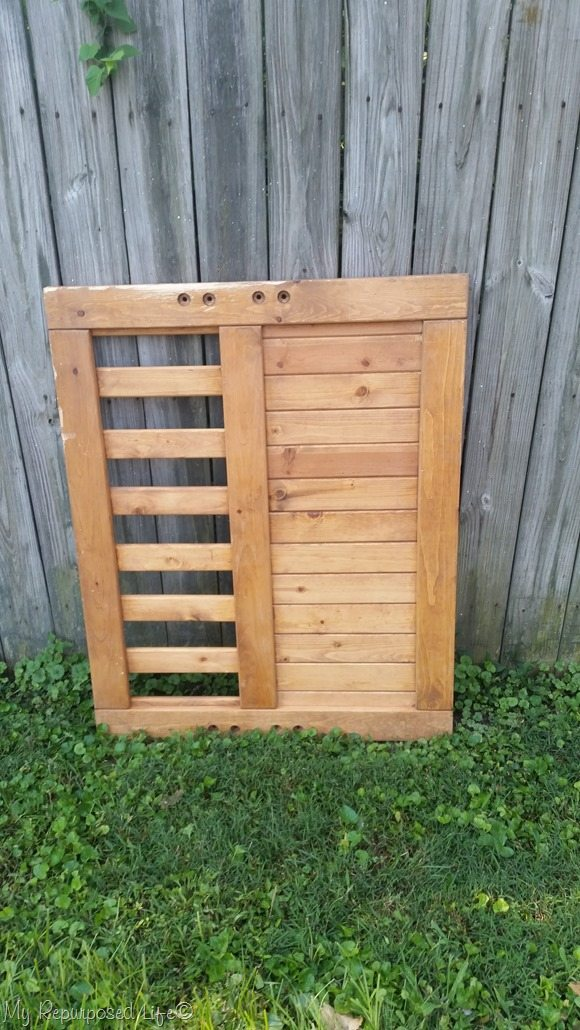 what would you do with this bed frame