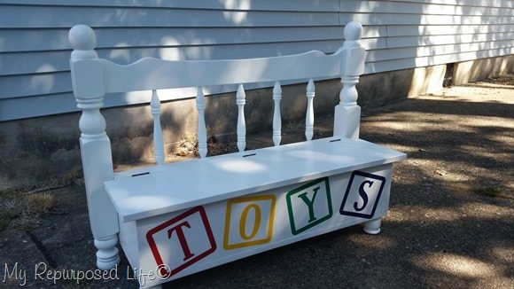 Twin Bed Toy Box My Repurposed Life 174