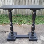 Double Pedestal Sofa Table