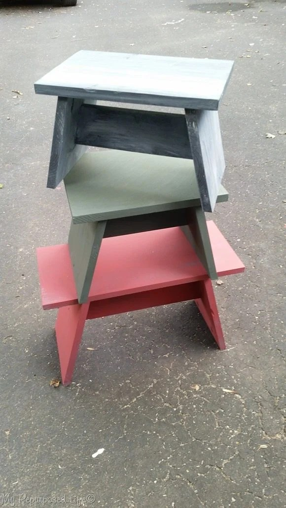 various benches and stools