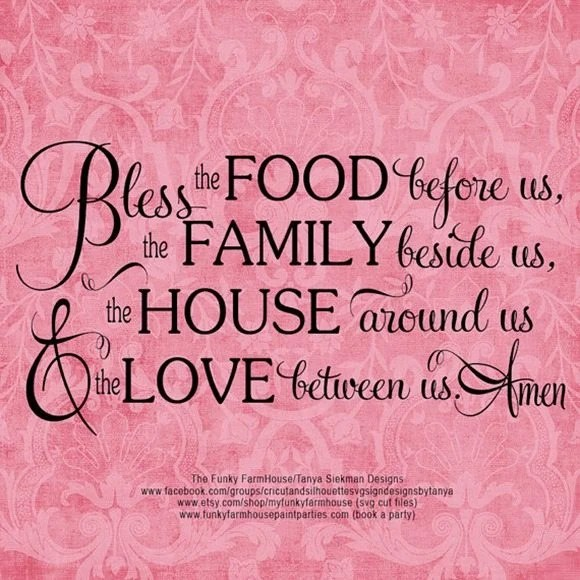 bless the food family house love