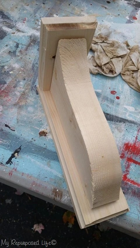 dry fit diy shelf brackets