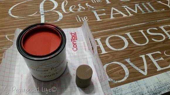 peppery paint stencil
