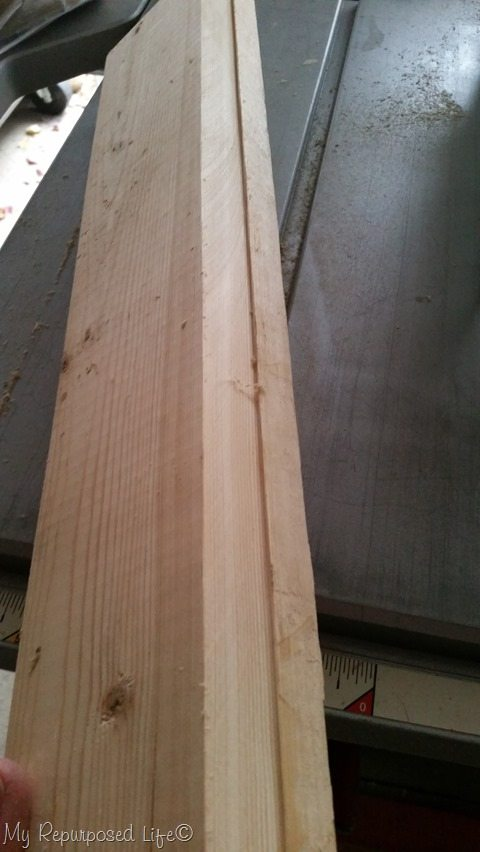cut angle on tablesaw