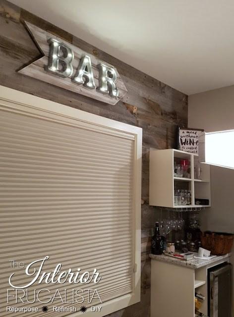 rustic bar sign