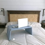 Repurposed Cupboard Door Lap Desk