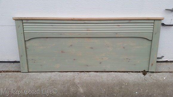 free green headboard