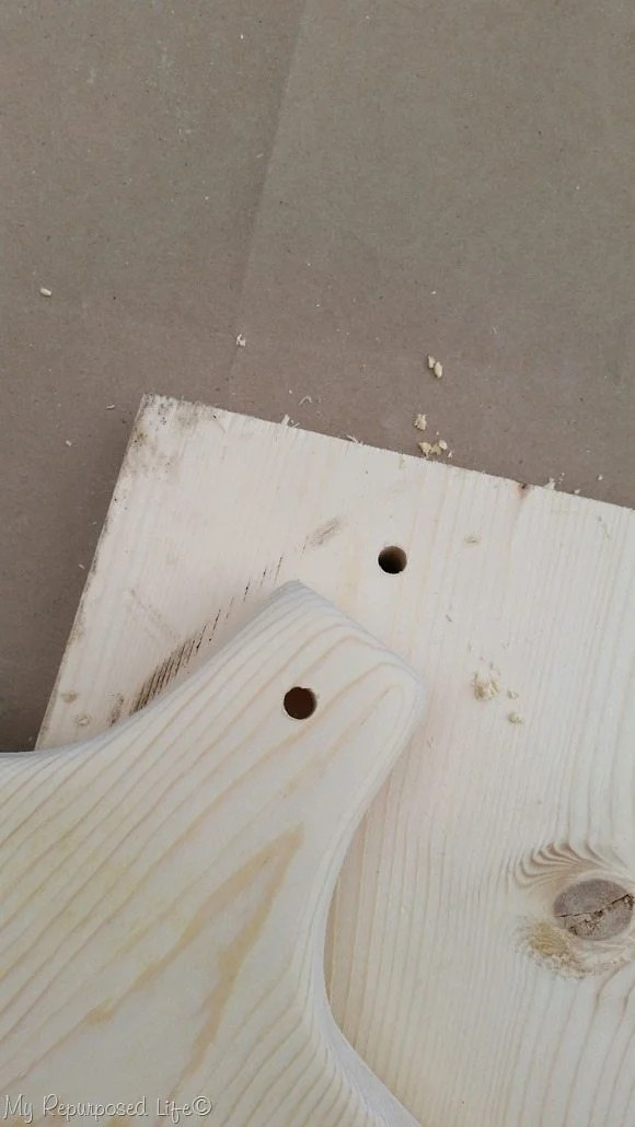 how to prevent tear out when drilling holes in wood projects