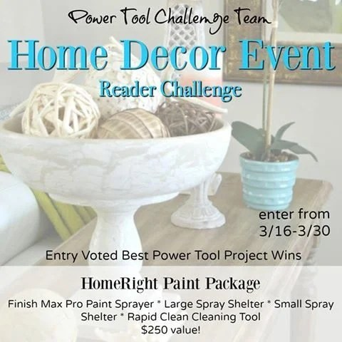 Power Tool Home Decor Reader Challenge