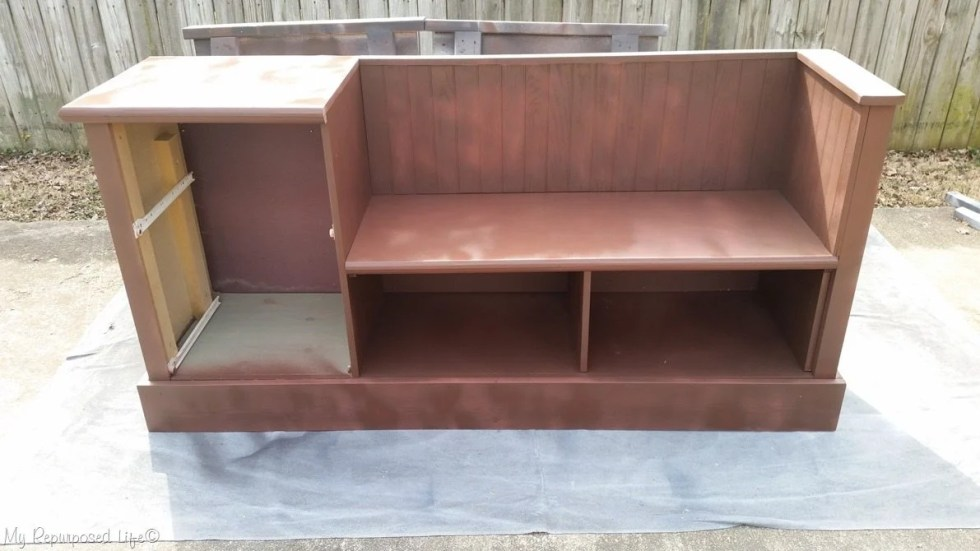 brown chalky paint primer