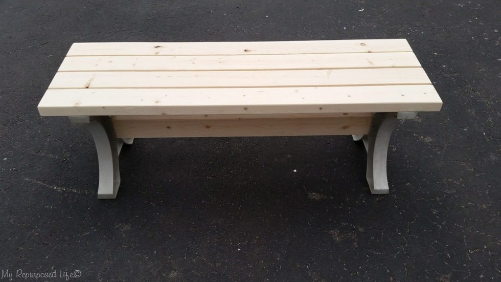 hopkins any size 2x4 table easy bench