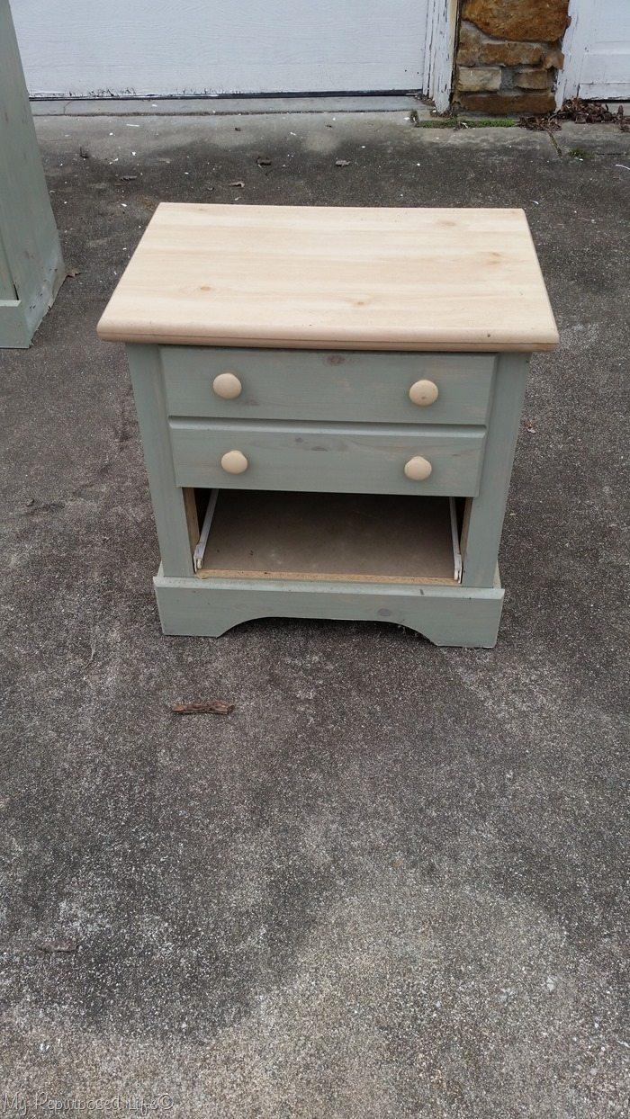 free green nightstand