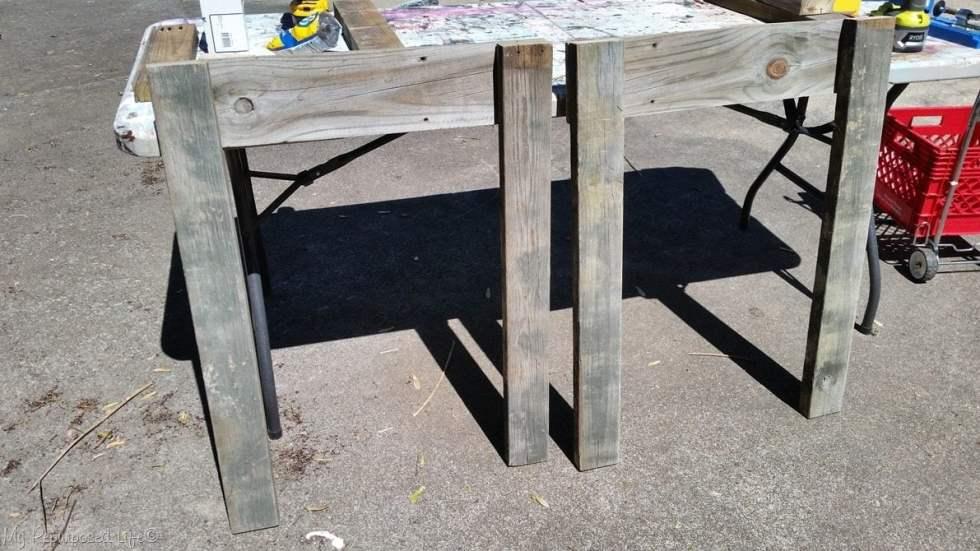 garden table legs