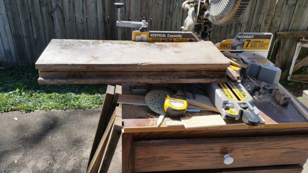 large reclaimed wood boards