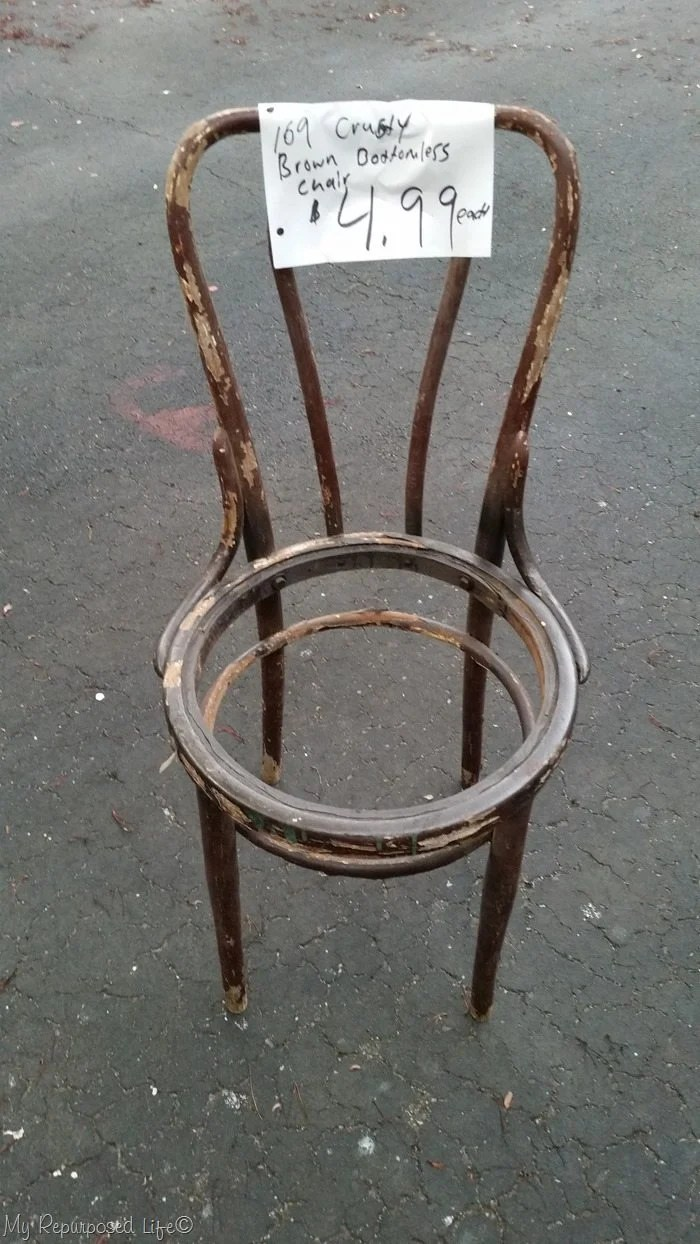 old chippy chair