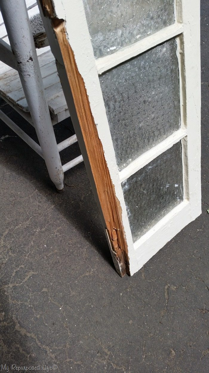 busted wood vintage window