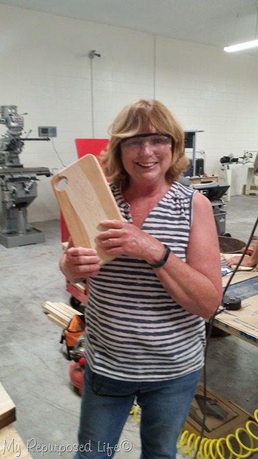 gail wilson diy cutting board
