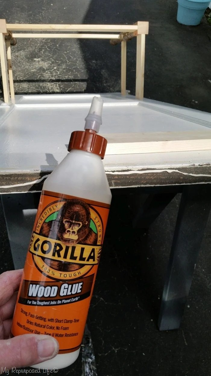 gorilla wood glue top trim