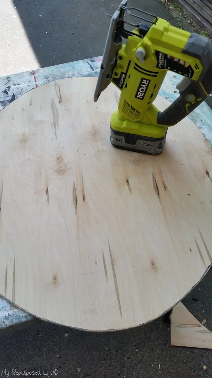 plywood oval