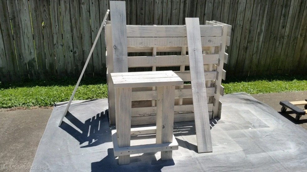 paint diy portable bar shelves and stool with finish max