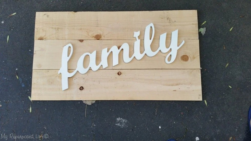 test fit family sign boards