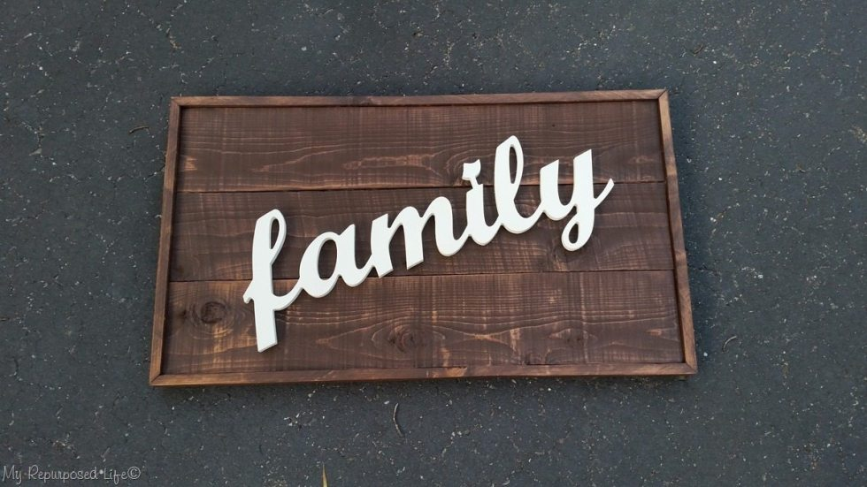 testing placement of the word family