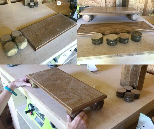 dry fit for drawer front serving tray