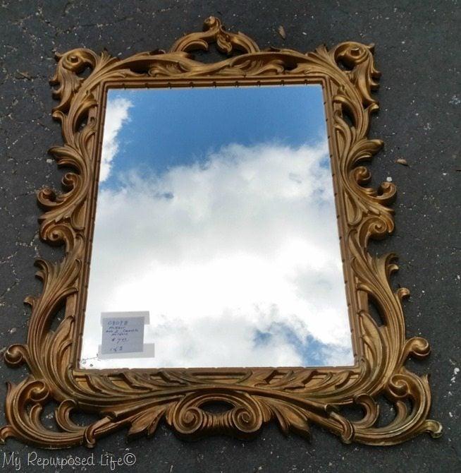 sycroco gold mirror