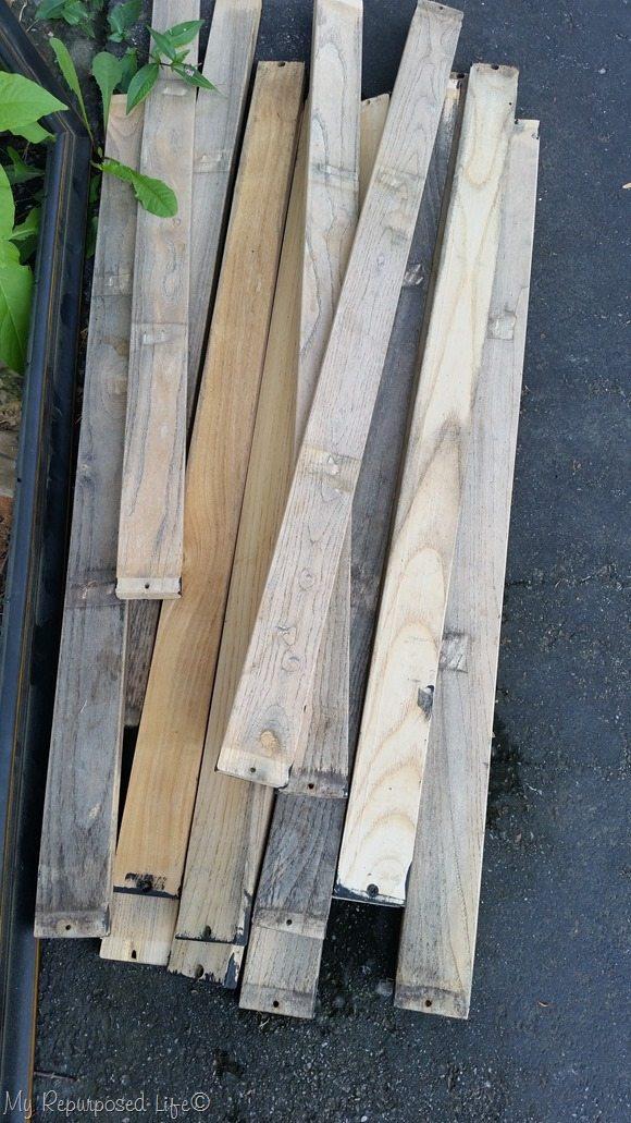 bench planks