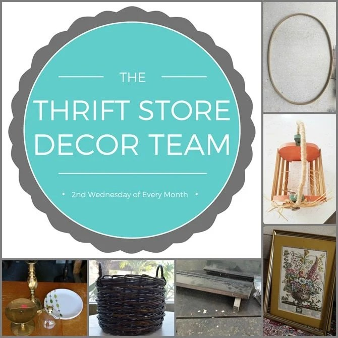thrift store decor challenge team projects