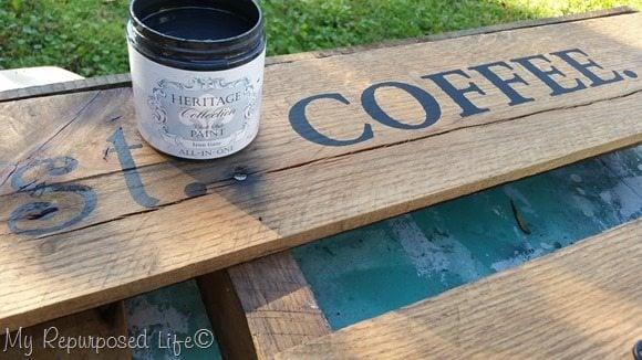 but first coffee stencil