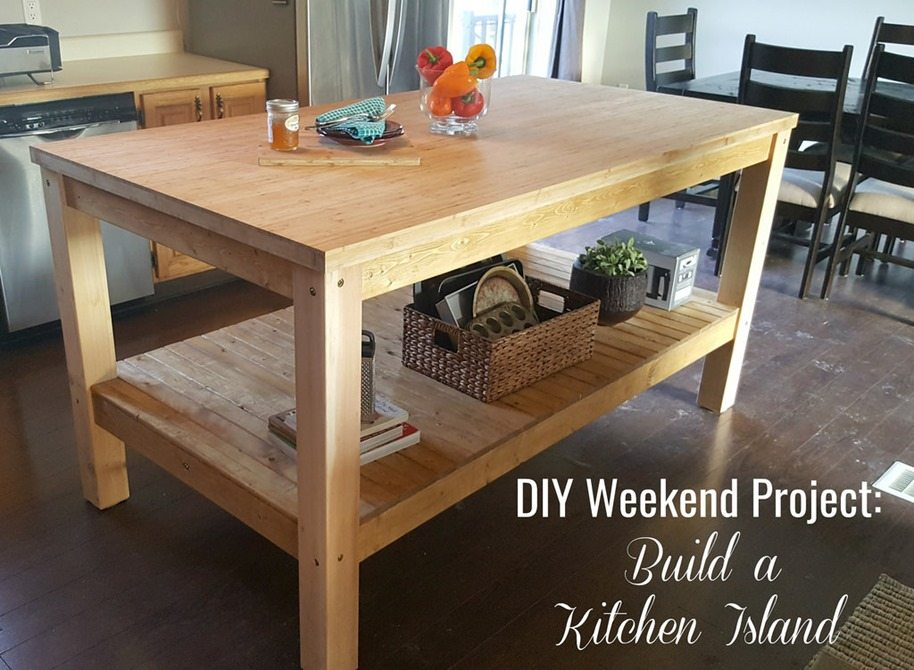 diy project kitchen island