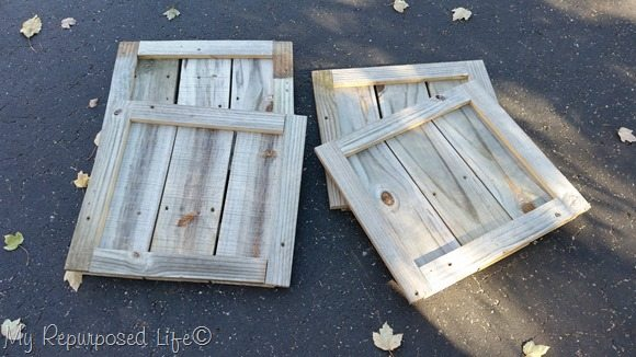 Christmas tree stand pieces fold flat for storage