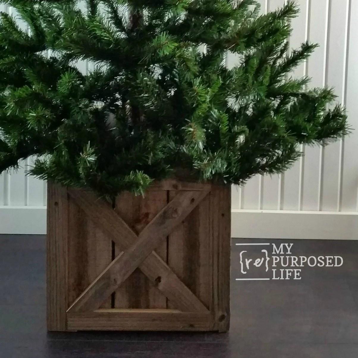 Christmas Tree Stand Box Folds Flat For Storage My