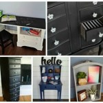 Repurposed Desk Project Ideas