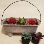 Loaf Pan Planter with Twisted Wire Handle Video Tutorial