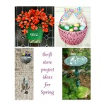 Spring Project Ideas Using Thrift Store Items