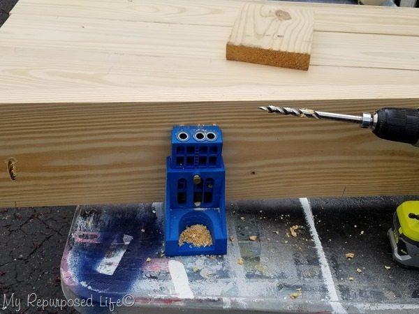 kreg jig pocket holes build table top[3]
