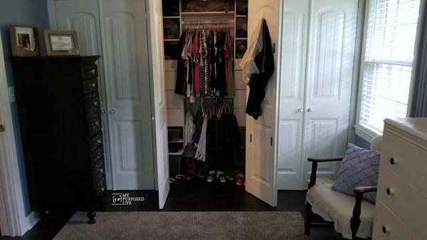 master bedroom closet diy MyRepurposedLife.com