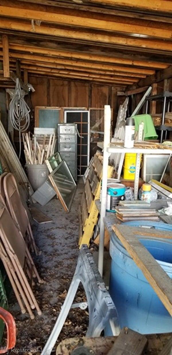 woodshed before