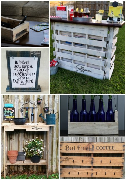 reclaimed pallet projects