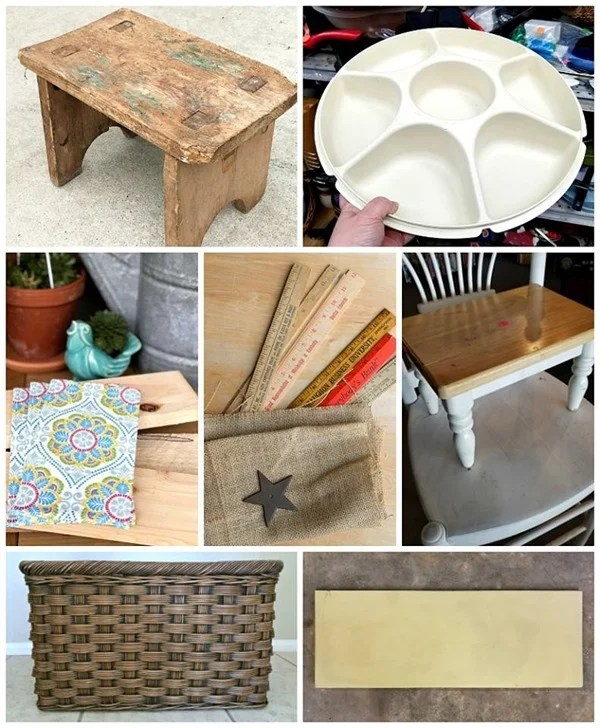 Thrift Store Decor Projects June 2018