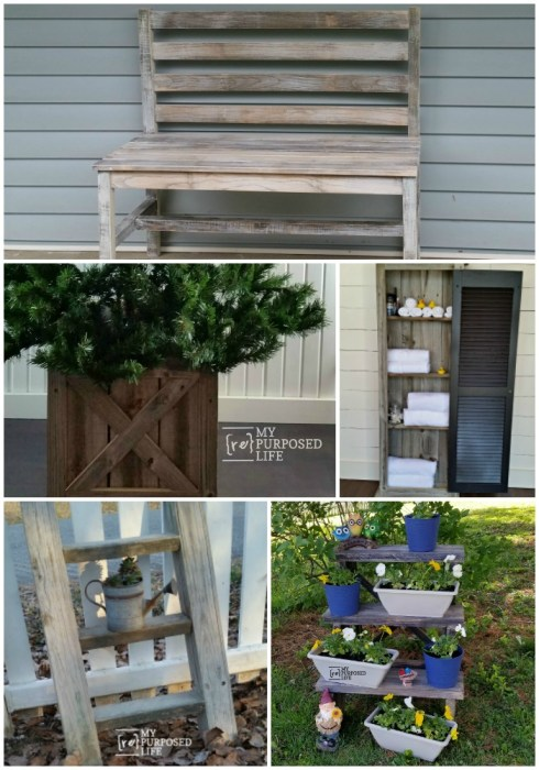 build it using reclaimed wood