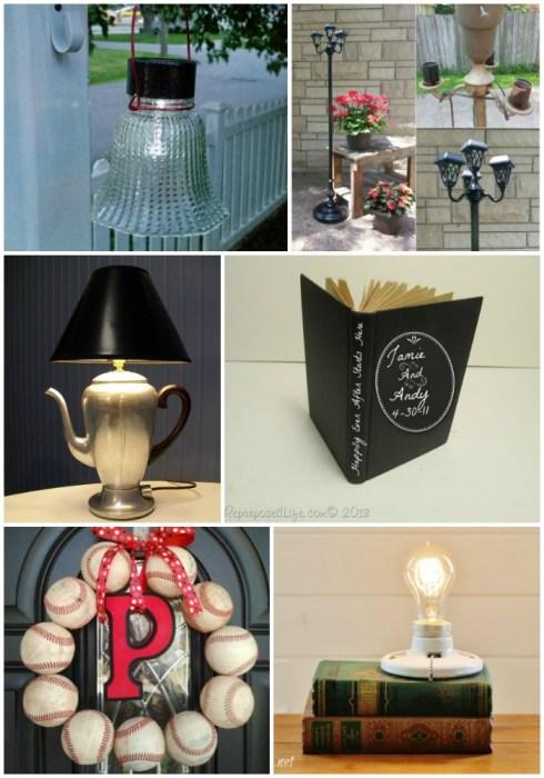repurposed household items
