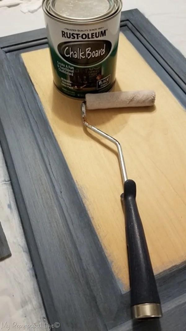 chalkboard paint small roller