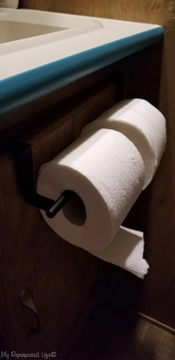 rv camper toilet paper hack