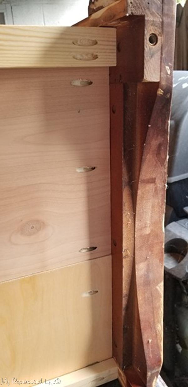 pocket hole screws secure shelves