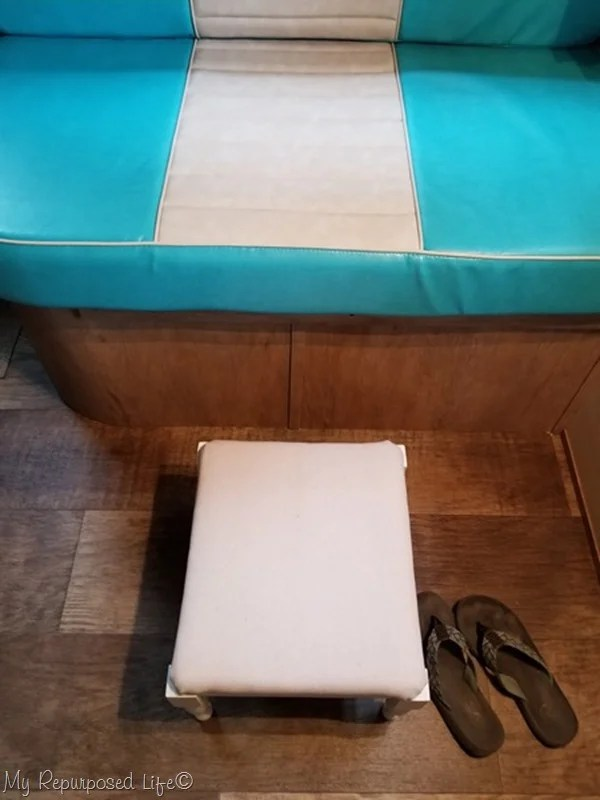 small footstool for camper