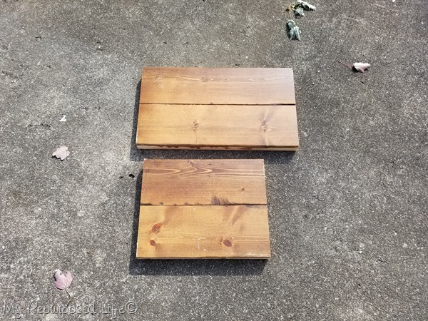 2x4 planks for stepstool
