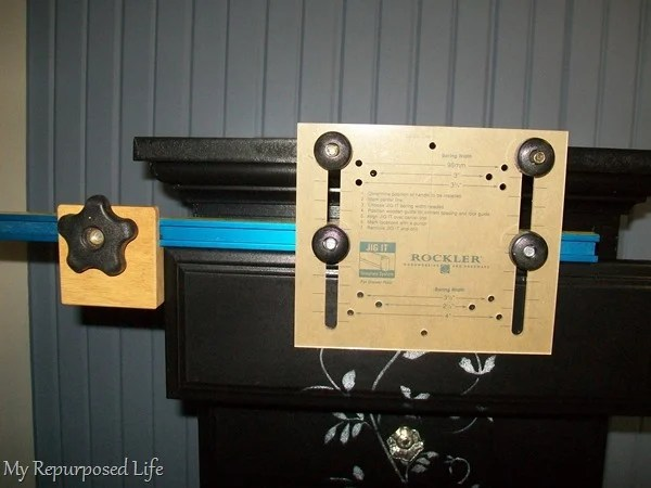 adjustable hardware jig